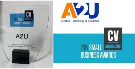 2019_Small_Business_Awards_A2U_Design_Manufacturing